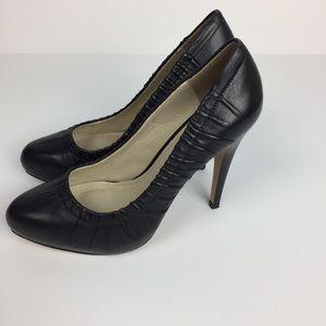 Aldo Black Leather Pumps Size 8